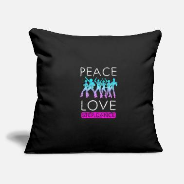 "Step Dance Step Dance - Throw Pillow Cover 18"" x 18"""