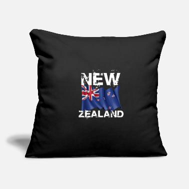 "Culture New Zealand - Throw Pillow Cover 18"" x 18"""