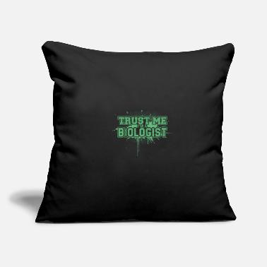 "Biology Biology - Throw Pillow Cover 18"" x 18"""