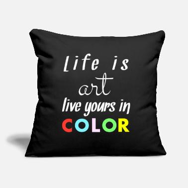 "Quotes Quotes - Throw Pillow Cover 18"" x 18"""