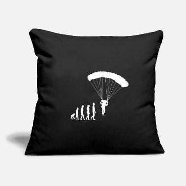 "Skydive Skydive Skydiver Skydiving Parachute Extreme - Throw Pillow Cover 18"" x 18"""