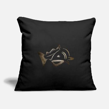 "Cod Cod Fishing - Throw Pillow Cover 18"" x 18"""