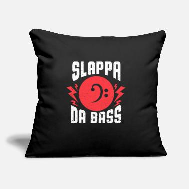 "Bassist Bassist - Throw Pillow Cover 18"" x 18"""