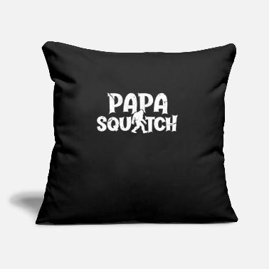 "Papa Papa Squatch - Throw Pillow Cover 18"" x 18"""