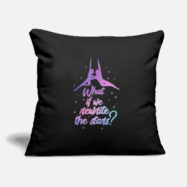 "Circus Theater What If We Rewrite The Stars? - Throw Pillow Cover 18"" x 18"""
