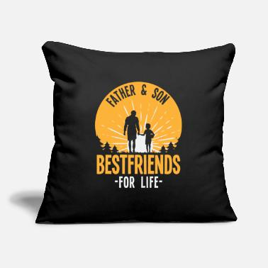 "Day Father & Son - Throw Pillow Cover 18"" x 18"""