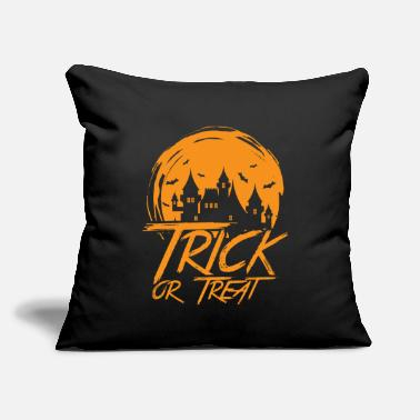 "Trick Or Treat Trick Or Treat - Throw Pillow Cover 18"" x 18"""