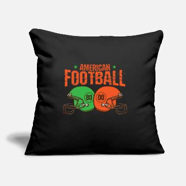 "Bowling American football - Throw Pillow Cover 18"" x 18"""