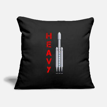 "Heavy HEAVY - Throw Pillow Cover 18"" x 18"""