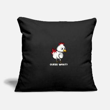 "Miscellaneous Guess What Funny Guy Gift - Throw Pillow Cover 18"" x 18"""