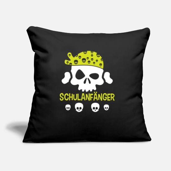 "Gift Idea Pillow Cases - Kindergarten Schoolchild Training Kindergarten - Throw Pillow Cover 18"" x 18"" black"