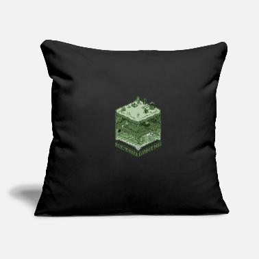 "Games Retro Gaming - Throw Pillow Cover 18"" x 18"""