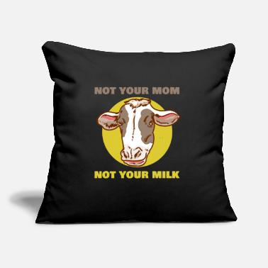 "Cow Cow - Throw Pillow Cover 18"" x 18"""