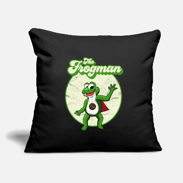 "Lurch FUNNY FROG TOAD SUPER LURCH GIFT - Throw Pillow Cover 18"" x 18"""