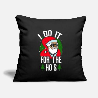 "Santa Christmas Santa Christmas - Throw Pillow Cover 18"" x 18"""