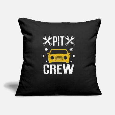 "Motorsport Racing Car Racer Streaker Tuner Turbo - Throw Pillow Cover 18"" x 18"""