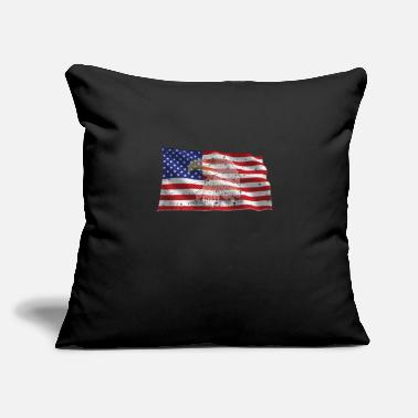 "United States United States - Throw Pillow Cover 18"" x 18"""