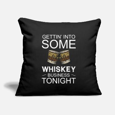 "Wine Whiskey St. Patricks Day Irish Alcoholic Alcohol - Throw Pillow Cover 18"" x 18"""