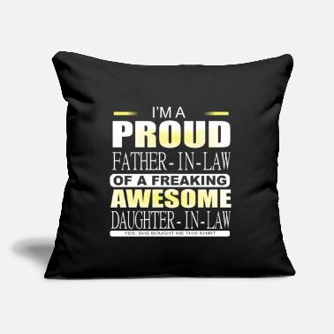 "Father In Law Father in law Shirts / Father in law - Throw Pillow Cover 18"" x 18"""