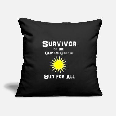 "Climate climate - Throw Pillow Cover 18"" x 18"""