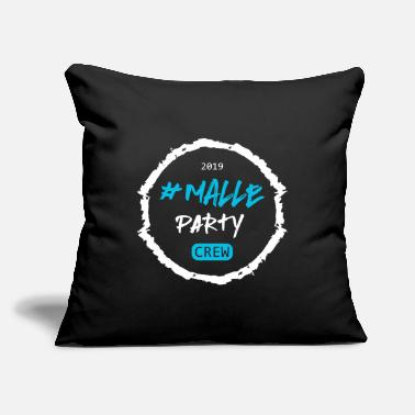 "Sangria Mallorca Malle Spain Island Vacation Beach Party - Throw Pillow Cover 18"" x 18"""