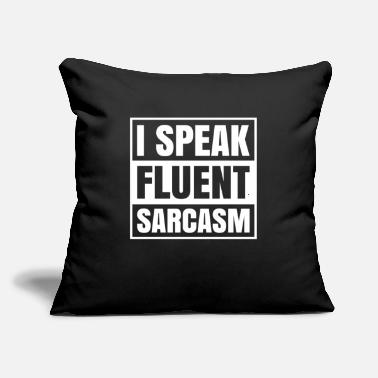"Amazing Sarcasm SARCASM - Throw Pillow Cover 18"" x 18"""