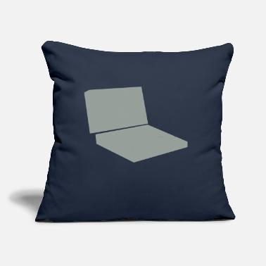 "Laptop Laptop - Throw Pillow Cover 18"" x 18"""
