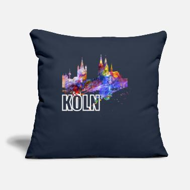 "North Rhine-westphalia Cologne Skyline North Rhine Westphalia Cathedral - Throw Pillow Cover 18"" x 18"""