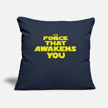 "What Awakens You? - Throw Pillow Cover 18"" x 18"""