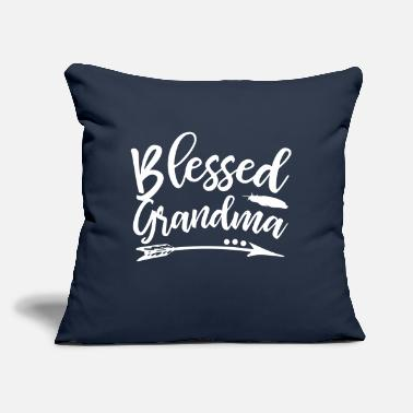 "Blessed Grandma - Throw Pillow Cover 18"" x 18"""