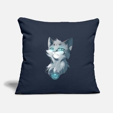 "Frost FROST KITTY - Throw Pillow Cover 18"" x 18"""