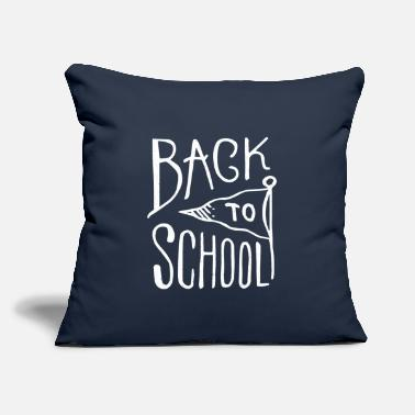 "Back To School Back To School - Throw Pillow Cover 18"" x 18"""