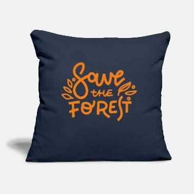 "Geek Save Forest - Throw Pillow Cover 18"" x 18"""