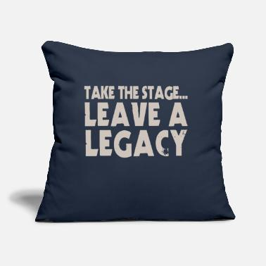 "Stage Take The Stage - Throw Pillow Cover 18"" x 18"""