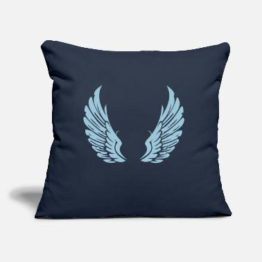 "Angelwings Angelwings - Throw Pillow Cover 18"" x 18"""