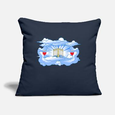 "Gate Gates of Heaven - Throw Pillow Cover 18"" x 18"""