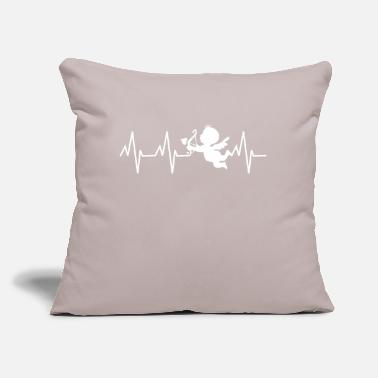 "Cupid cupid - Throw Pillow Cover 18"" x 18"""