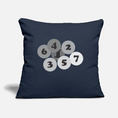 "Numbers Number - Throw Pillow Cover 18"" x 18"""