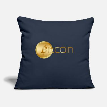 "We Are The 99 Percent BITCOIN - Throw Pillow Cover 18"" x 18"""