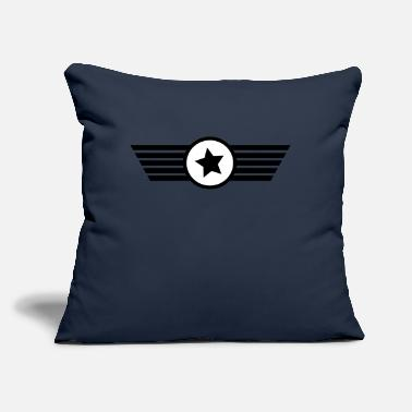 "Logo logo - Throw Pillow Cover 18"" x 18"""