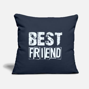 "Best best friend - Throw Pillow Cover 18"" x 18"""