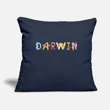 "Darwin Darwin - Throw Pillow Cover 18"" x 18"""