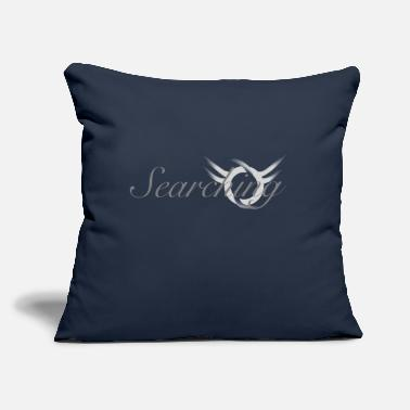 "Search searching search - Throw Pillow Cover 18"" x 18"""