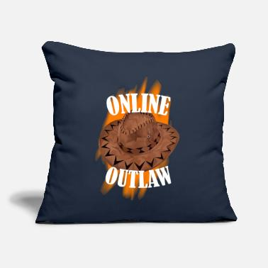 Online Online Outlaw - Throw Pillow Cover