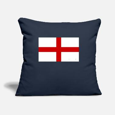 "England England flag, England, England fahne - Throw Pillow Cover 18"" x 18"""