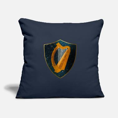 "Ireland Ireland Coat of Arms - Throw Pillow Cover 18"" x 18"""