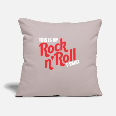 "Rock 'n' Roll Rock n Roll - Throw Pillow Cover 18"" x 18"""