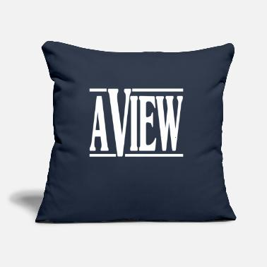 "View A View - Throw Pillow Cover 18"" x 18"""
