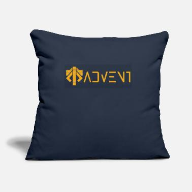 "Advent advent coalition - Throw Pillow Cover 18"" x 18"""