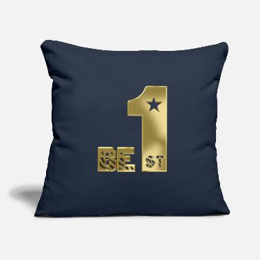 "First Be first - Throw Pillow Cover 18"" x 18"""